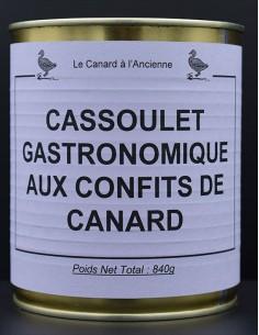 Cassoulet gastronomique aux...