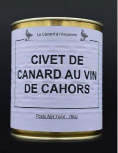 Civet de canard au vin de...