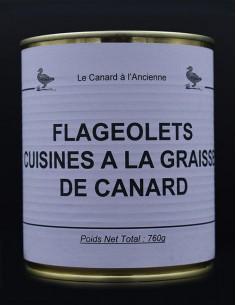 Flageolets cuisinés à la...