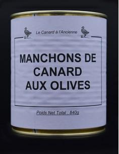 Manchons de canard aux olives