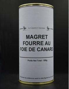 Magret fourré au foie de...