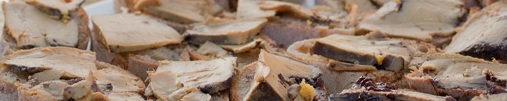 Foie gras de canard et ses accompagnements
