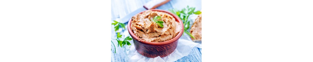 Pâtés et spécialités au foie gras